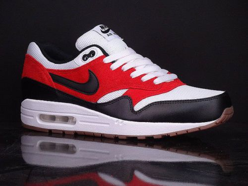 sports shoes 519a9 a89a6 NIKE-Air-Max-1-Essential-Gamma-Orange-Gum-Black-New-BREDS-Running-537383-122