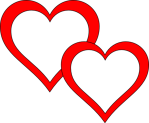 Two Hearts Overlap Clip Art Clip Art Name Wallpaper Online Art