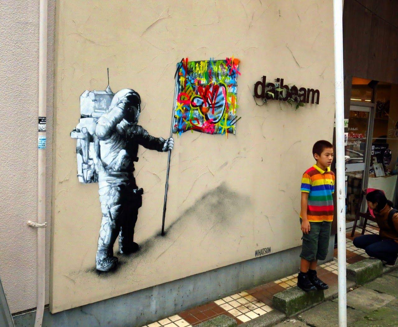 Martin whatson new mural graffiti i graffiti styles street art love tokyo streets