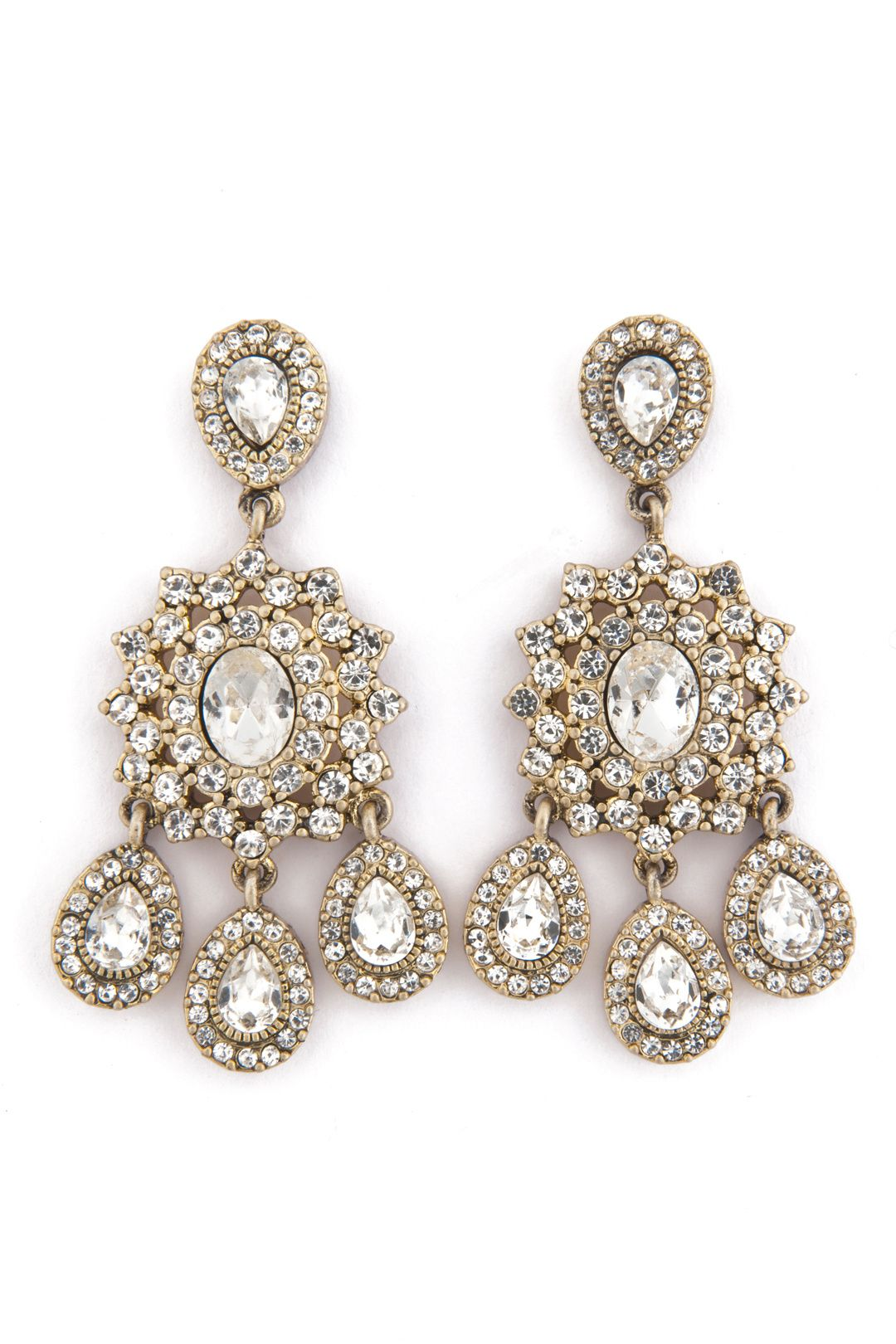Southern Plantation Earrings By Nicole Miller Accessories For 5 Only At The Runway