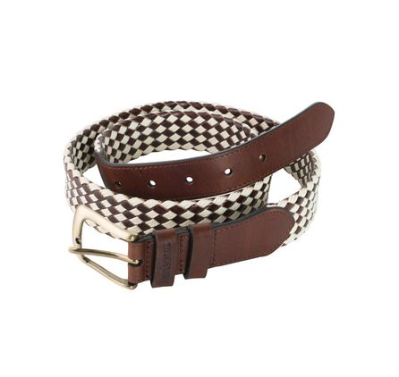 Leather And Wax Cotton Belt £39.95