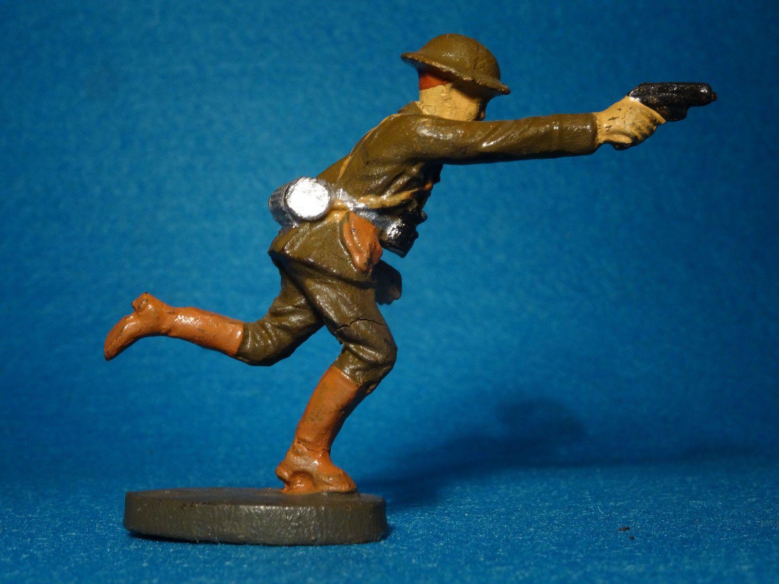 Elastolin Hausser Englischer Soldat 4 im 7,5 cm Maßstab | eBay
