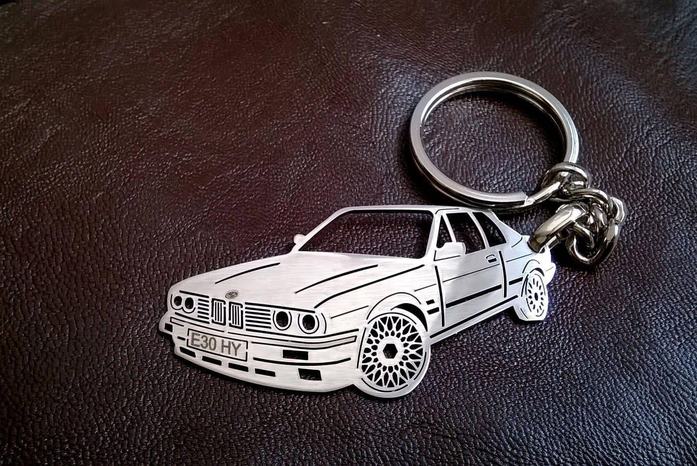 Christmas Gift Bmw Keychain Bmw E30 Bmw Personalized Key Chain
