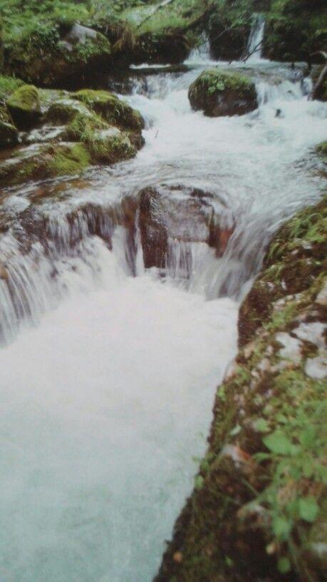 Cascadas del Río del Infierno en Caso
