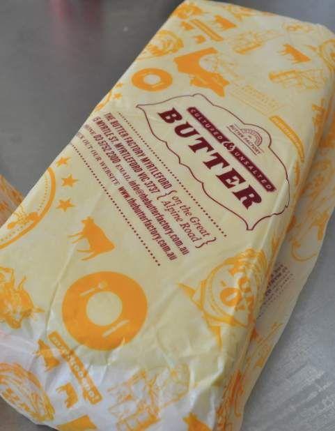 Bulk Cultured Australian Butter from myrtleford