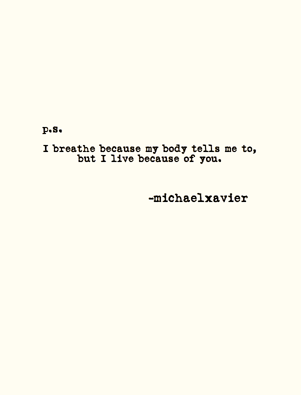 ― Michael Xavier