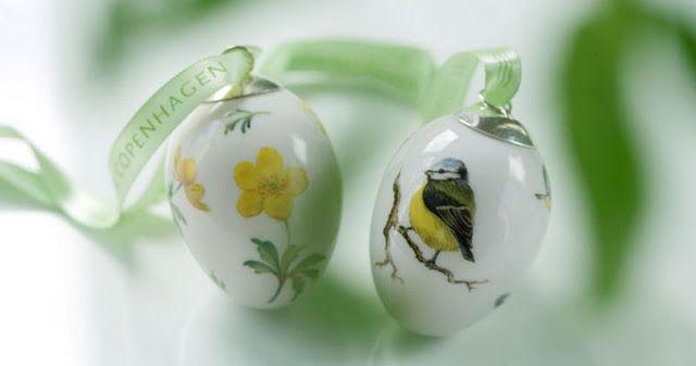 Easter eggs - Royal Copenhagen