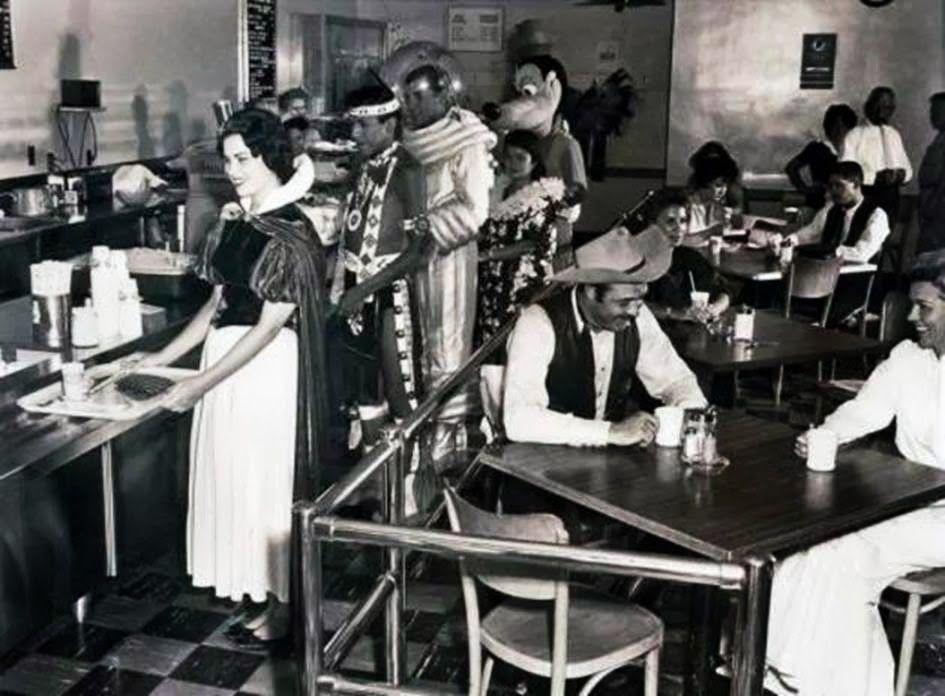 Disney Land Employee Cafeteria, 1961 A.D.