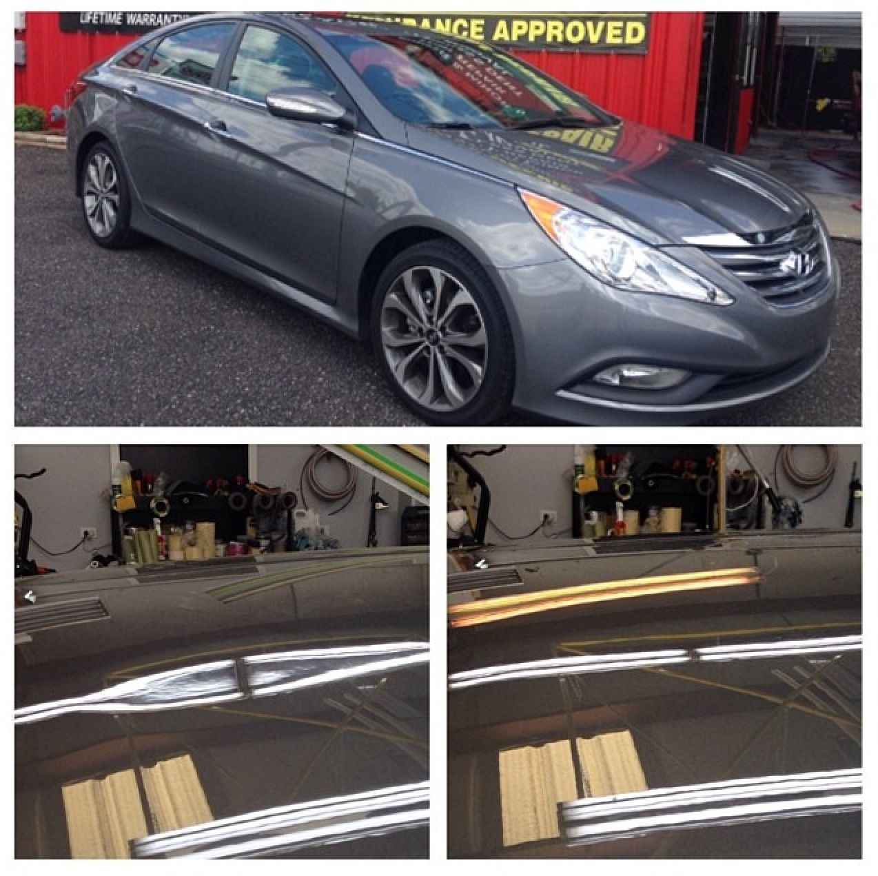 Hyundai Sonata Vs Garage Door Paint Free Dent Repair For