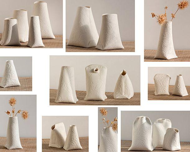 Artful Porcelain Objects by Wapa Studio