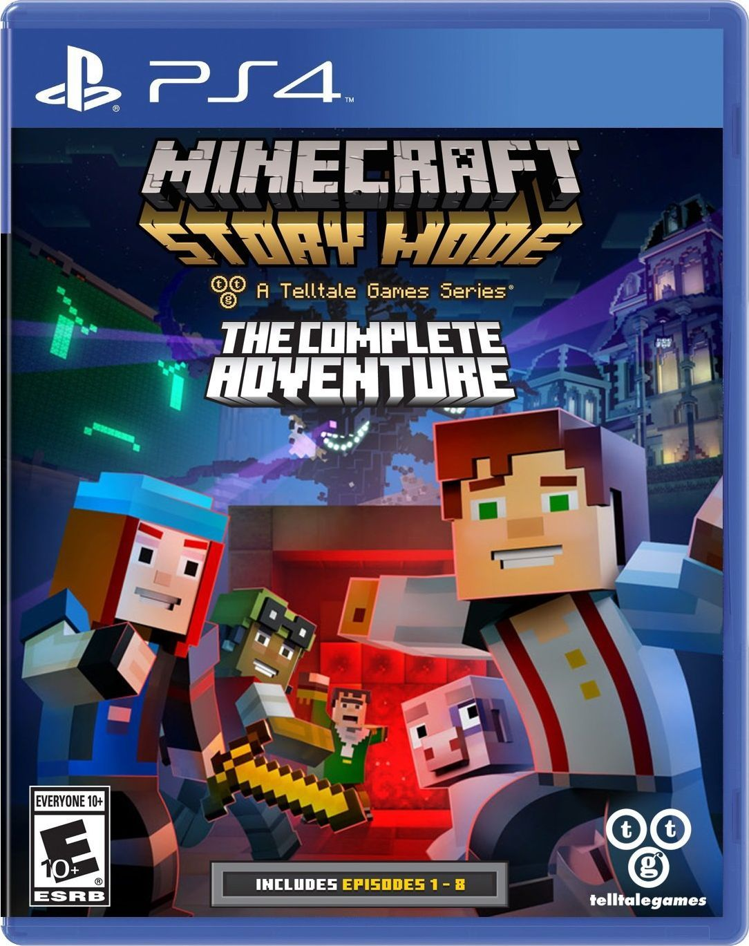 Minecraft Story Mode Nintendo Switch Games Xbox One Games Minecraft Video Games