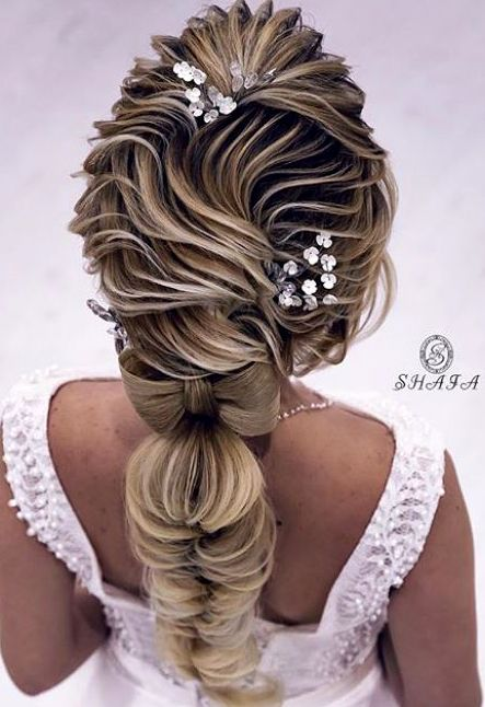 Most Popular Bridal Hairstyles Of 2018 Braided Hairstyles For Girls Short Hair Bride Bride Hairstyles Bridal Hair