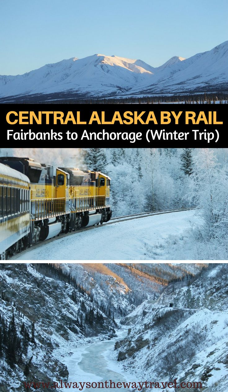Photo of Around Central Alaska by Rail – Fairbanks to Anchorage (Winter Edition)