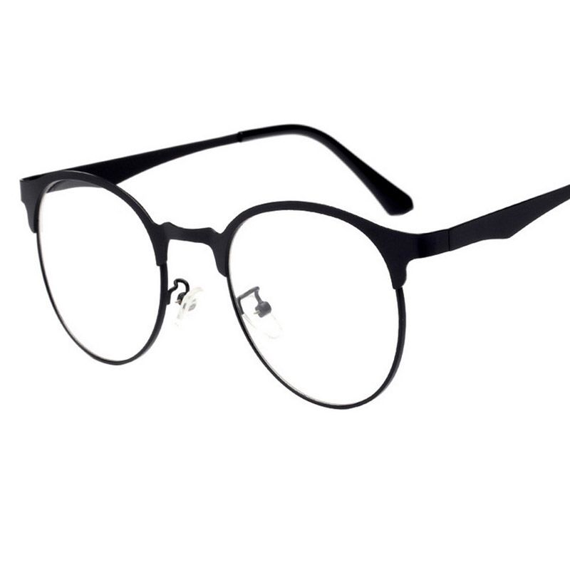 fc72e19b689 2017 Metal Full Frame Eyeglasses Frames High Quality Spectacle Eye Glasses  Men Frame Women Eyewear Myopia Frame oculos de grau