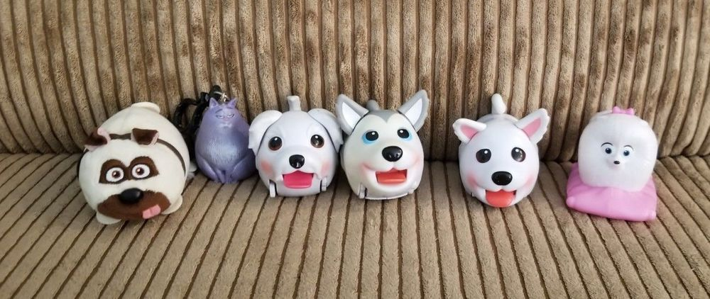 Burger King Secret Life Of Pets Mixed Lot Chloe Gidget Mcdonalds