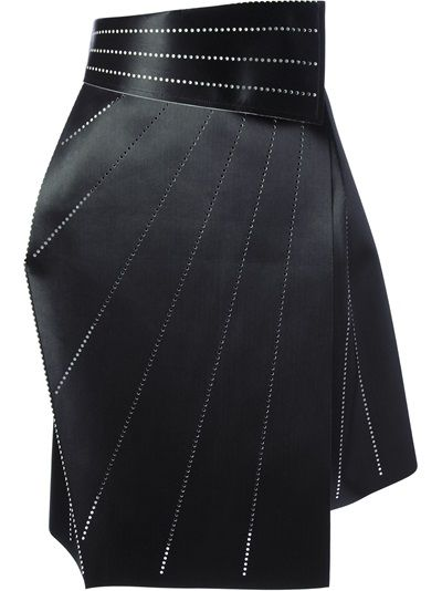 Issey Miyake Structured Origami Wrap Skirt Origami Please