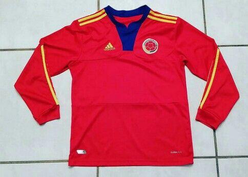 ADIDAS Colombia National Team Long Sleeve Away Jersey #jerseys#colombia#soccer#futbol#copaamerica#fifa#worldcup#ebay#ebayseller