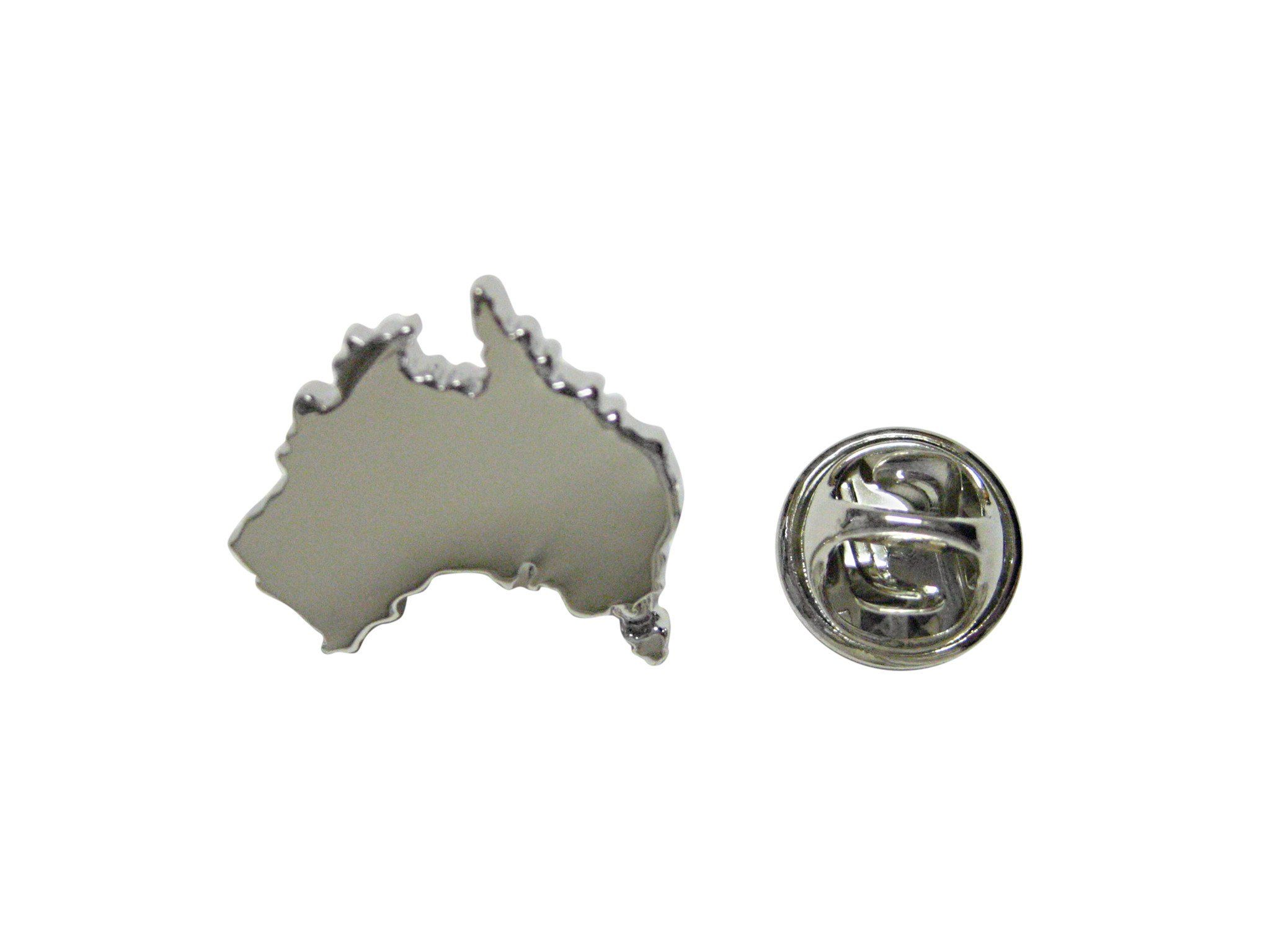 Australia Map Shape.Australia Map Shape Lapel Pin World Maps Lapel Pins Australia