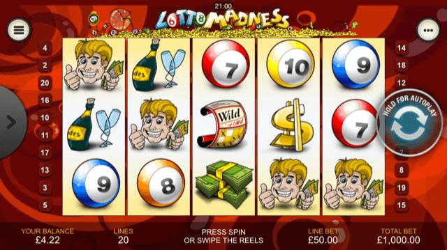 Free Slot Machine Lotto Madness