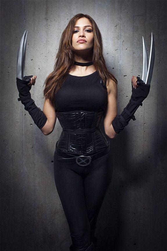 curtvilescomic: cosplayerbeauties: Beautiful chick with an ... X 23 Cosplay