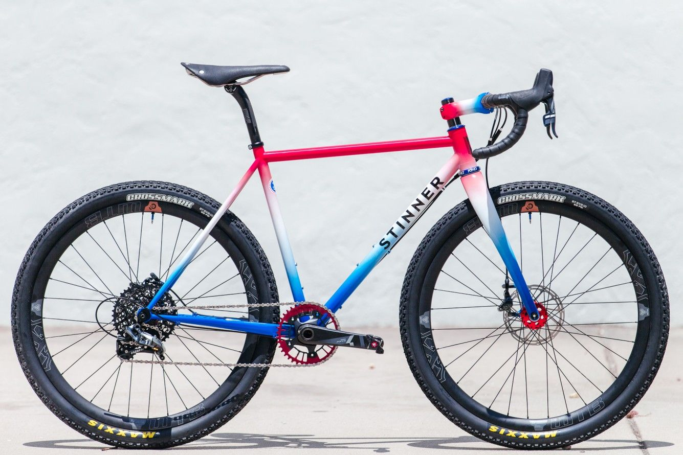 A 4th Of July Red White And Blue Stinner Frameworks Monster Cross
