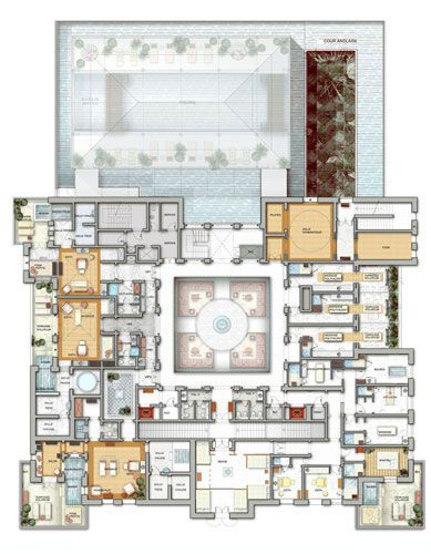 Floor Plans Of Moroccan Houses Google Search Floor Plans Hotel Floor Plan Hotel Floor