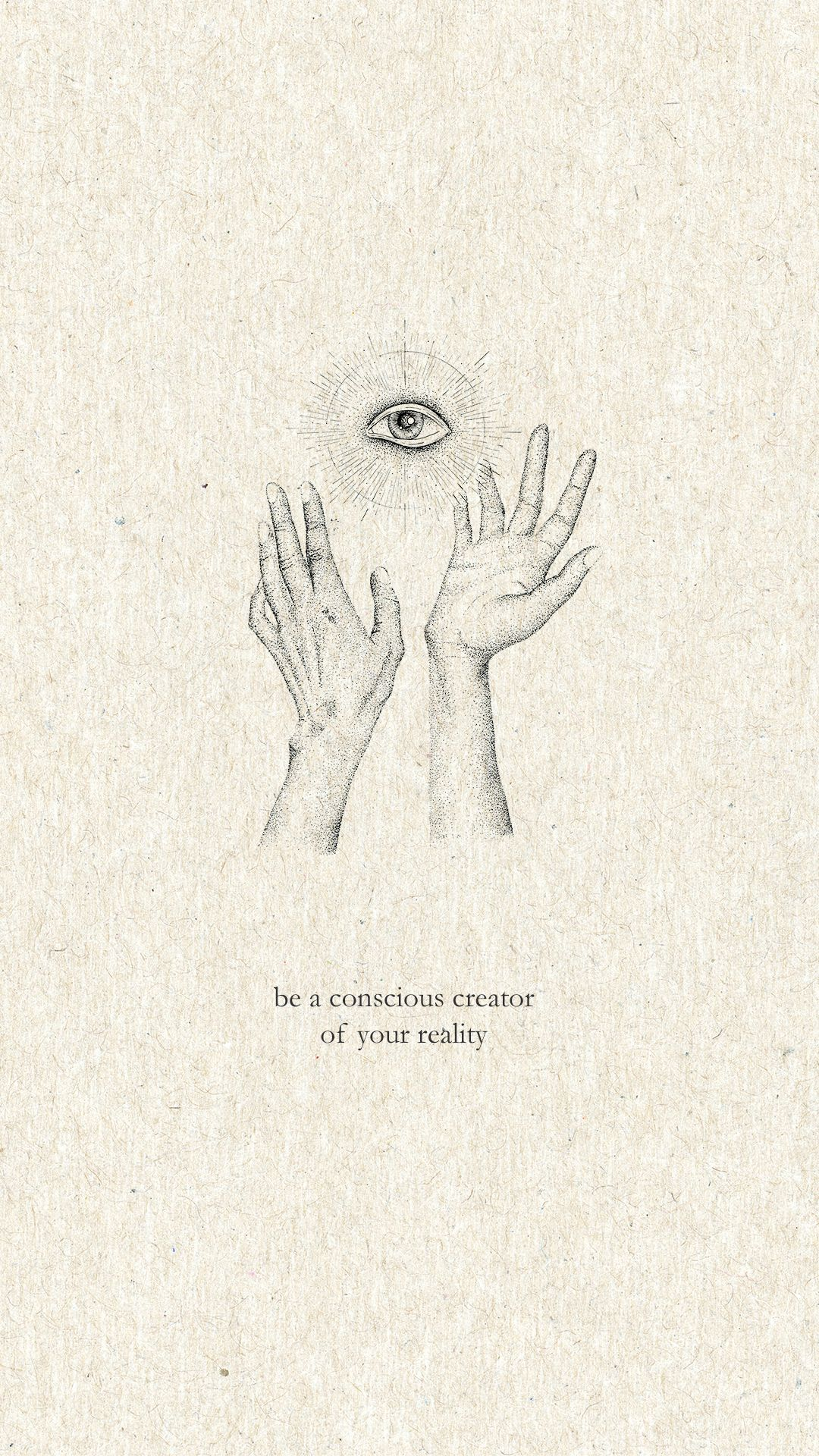 Be a conscious creator print