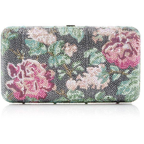 Pink Symphony Large Ridge Clutch | Moda Operandi (232.635 RUB) ❤ liked on Polyvore featuring bags, handbags, clutches, pink purse, pink handbags and pink clutches