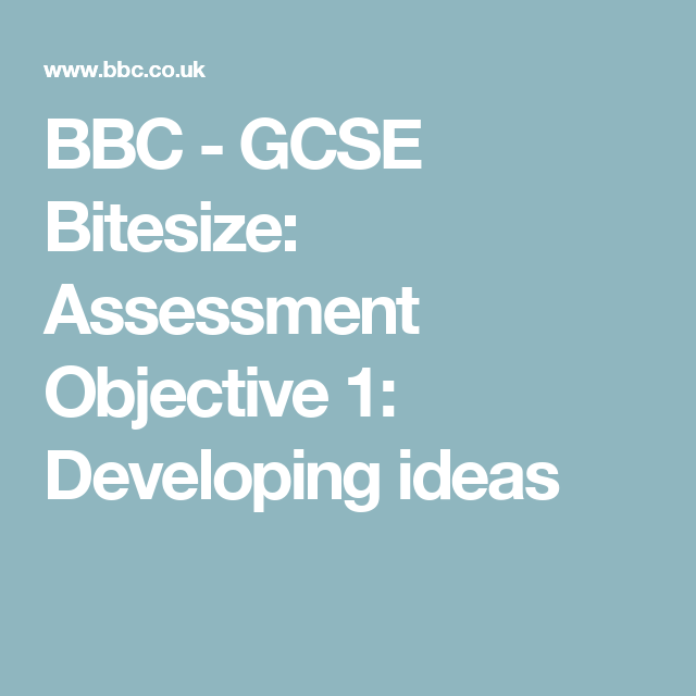 Bbc gcse bitesize assessment objective 1 developing ideas gcse a secondary school revision resource for aqa gcse biology about environmental changes how to measure change and the effect on predator and prey numbers urtaz Gallery