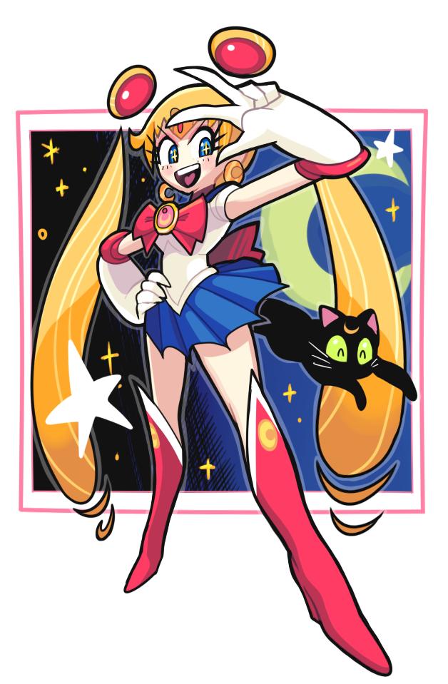 Sailor moon doodle by Gashi-gashi.deviantart.com on @deviantART