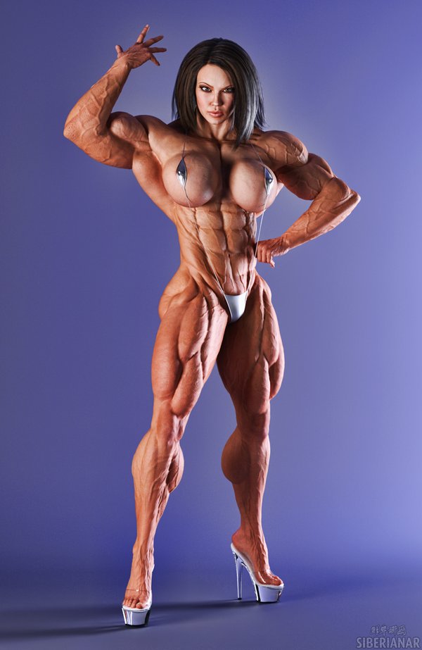 Angel sexy muscle female — img 1