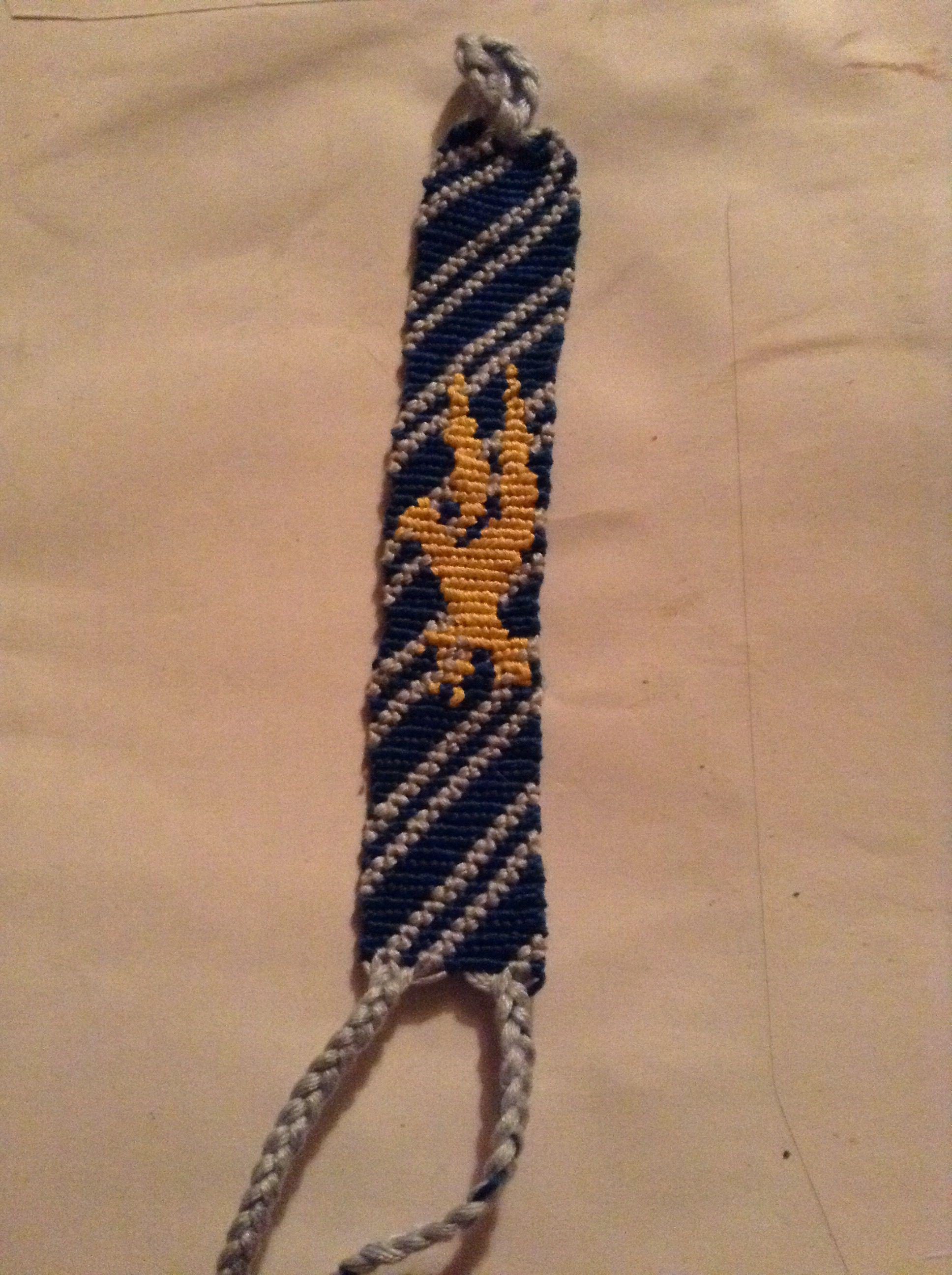 Ravenclaw Friendship Bracelet