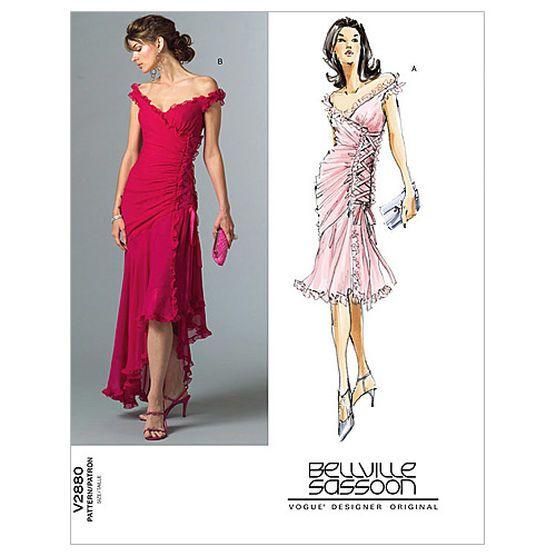 Mccall Pattern V2880 F (16-18-2-Vogue Pattern | patterns to buy ...