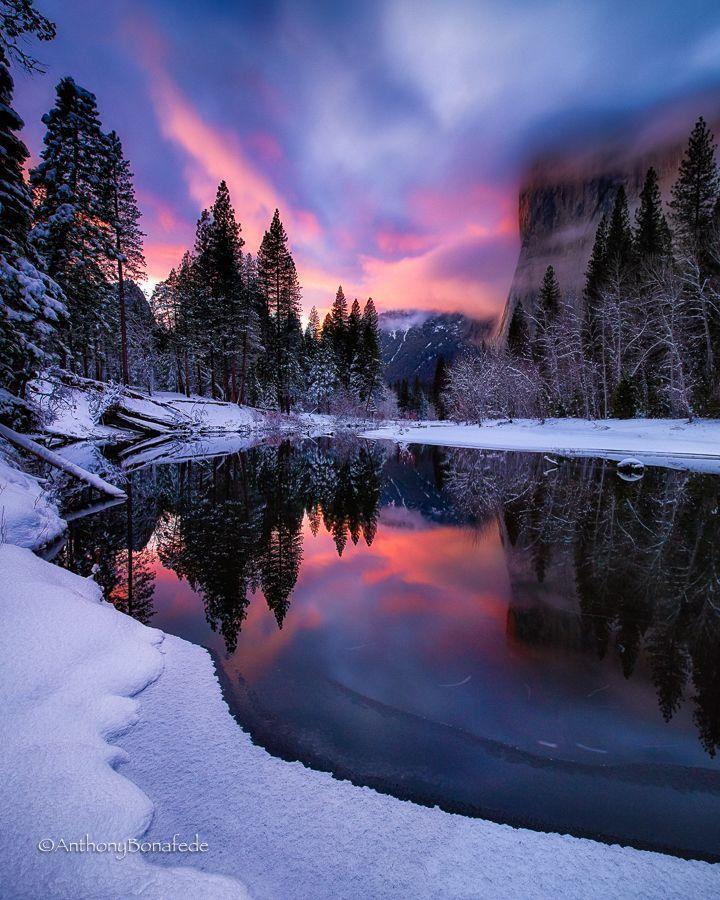 """Herzlichen Glückwunsch an Anthony Bonafede, dessen Bild """"Winter's Twilight"""" ... #photoscenery"""