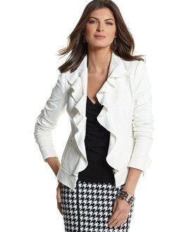 9e5d00239235 I love this look. | My Style (T4) | Dressy jackets, Stylish jackets ...