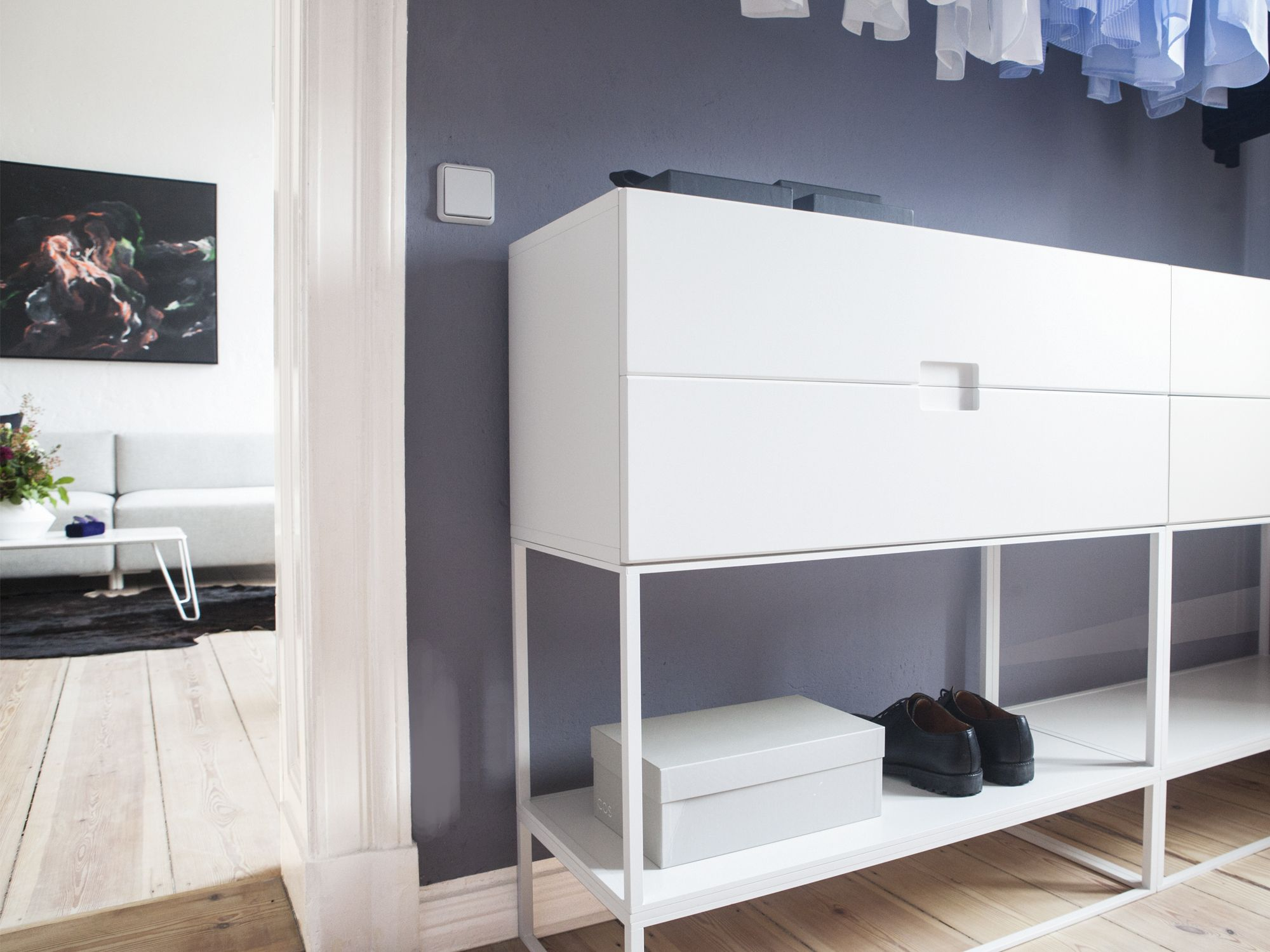 Your Clothes, Shoes And Every Other Piece You Put On, Finds A Place In Our  Fischer Shelving System, Which Adapts Perfect To Your Bedrooms Or Every  Other ...