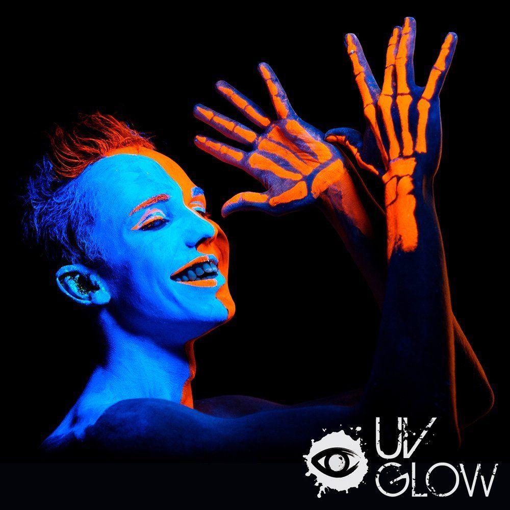 Amazonsmile Uv Glow Blacklight Face And Body Paint 0