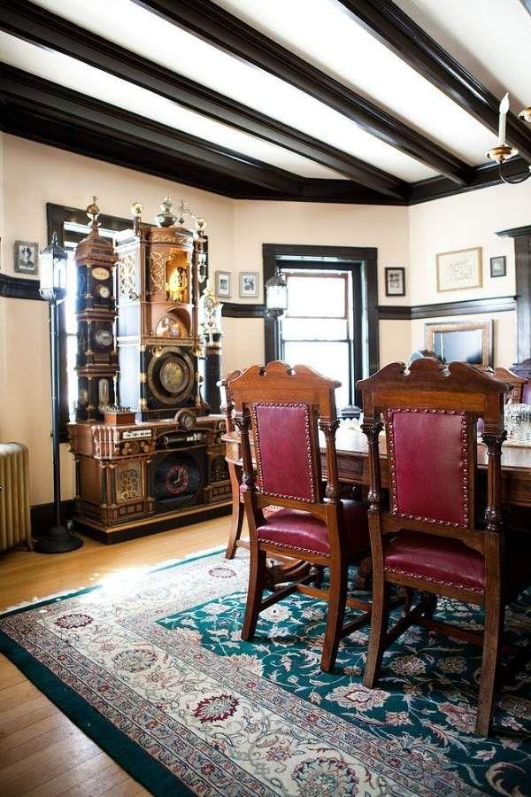 Steampunk Mashinen Viktorianische Elemente Design Modern