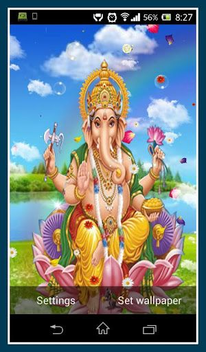 It contain several background image.also having natural feel leaves,bubble,cloud,ganesha background. etc.  http://Mobogenie.com