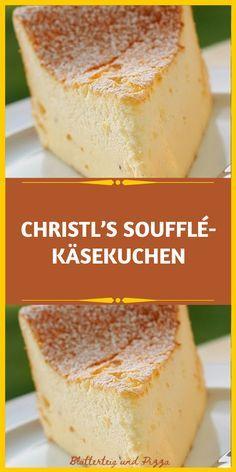 CHRISTL'S SOUFFLÉ-KÄSEKUCHEN