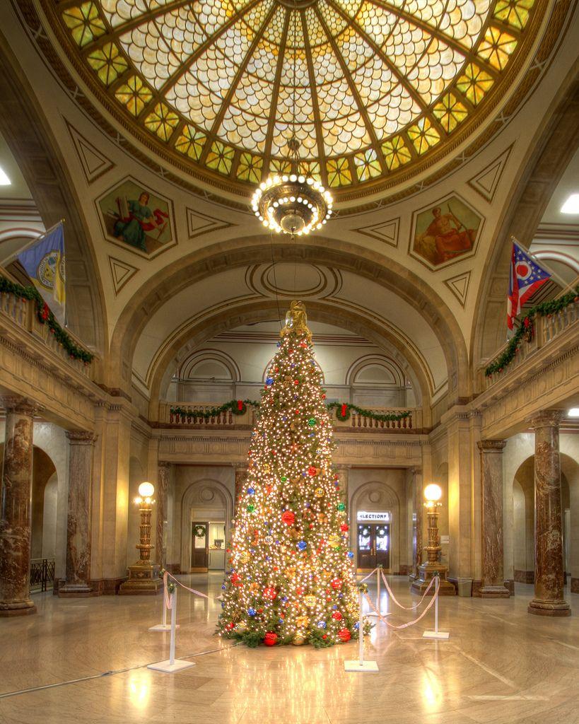 Scioto County Ohio Courthouse Christmas Tree 2012 Portsmouth Ohio Scioto County Ohio History