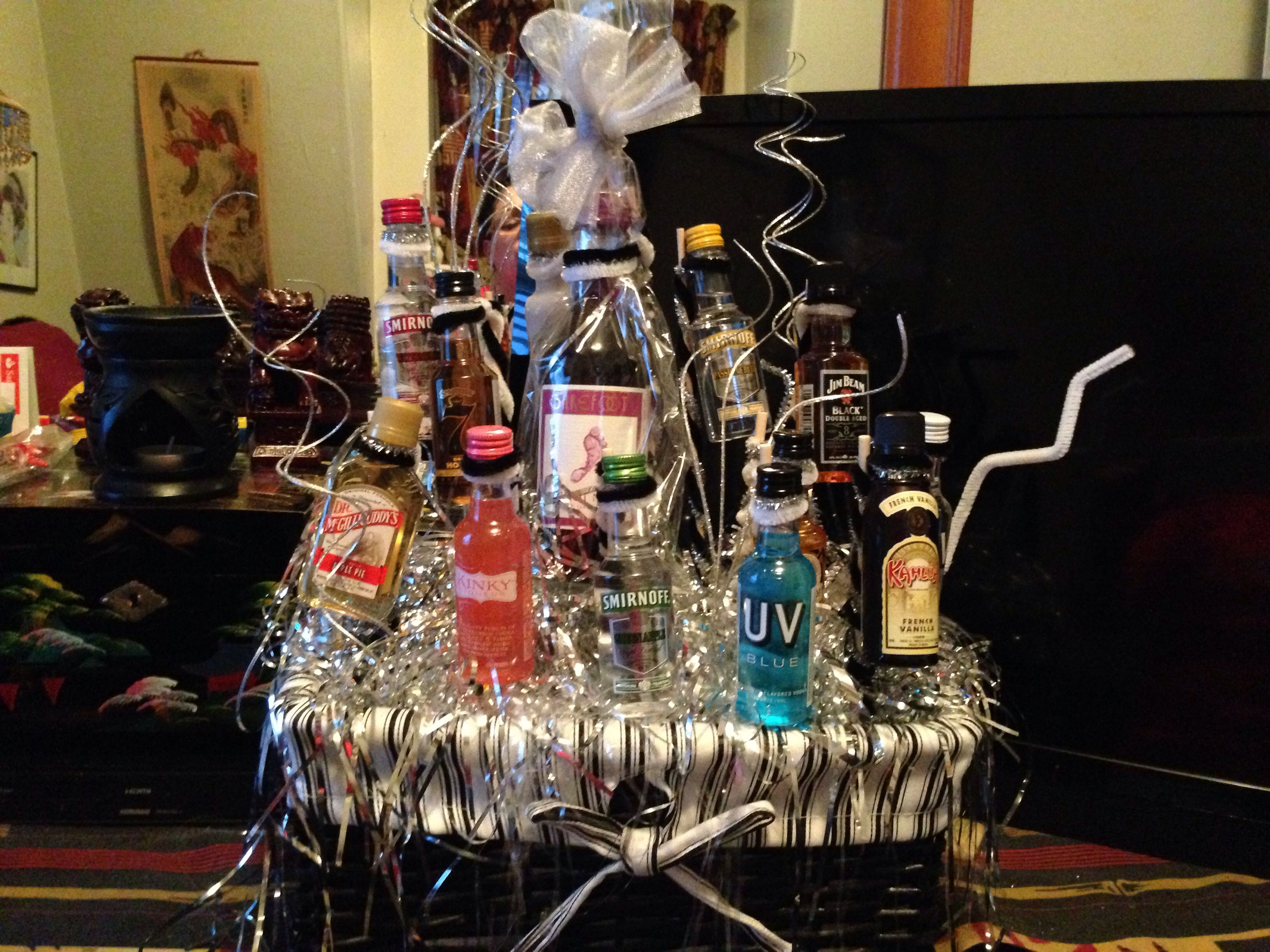 fundraiser basket of cheer