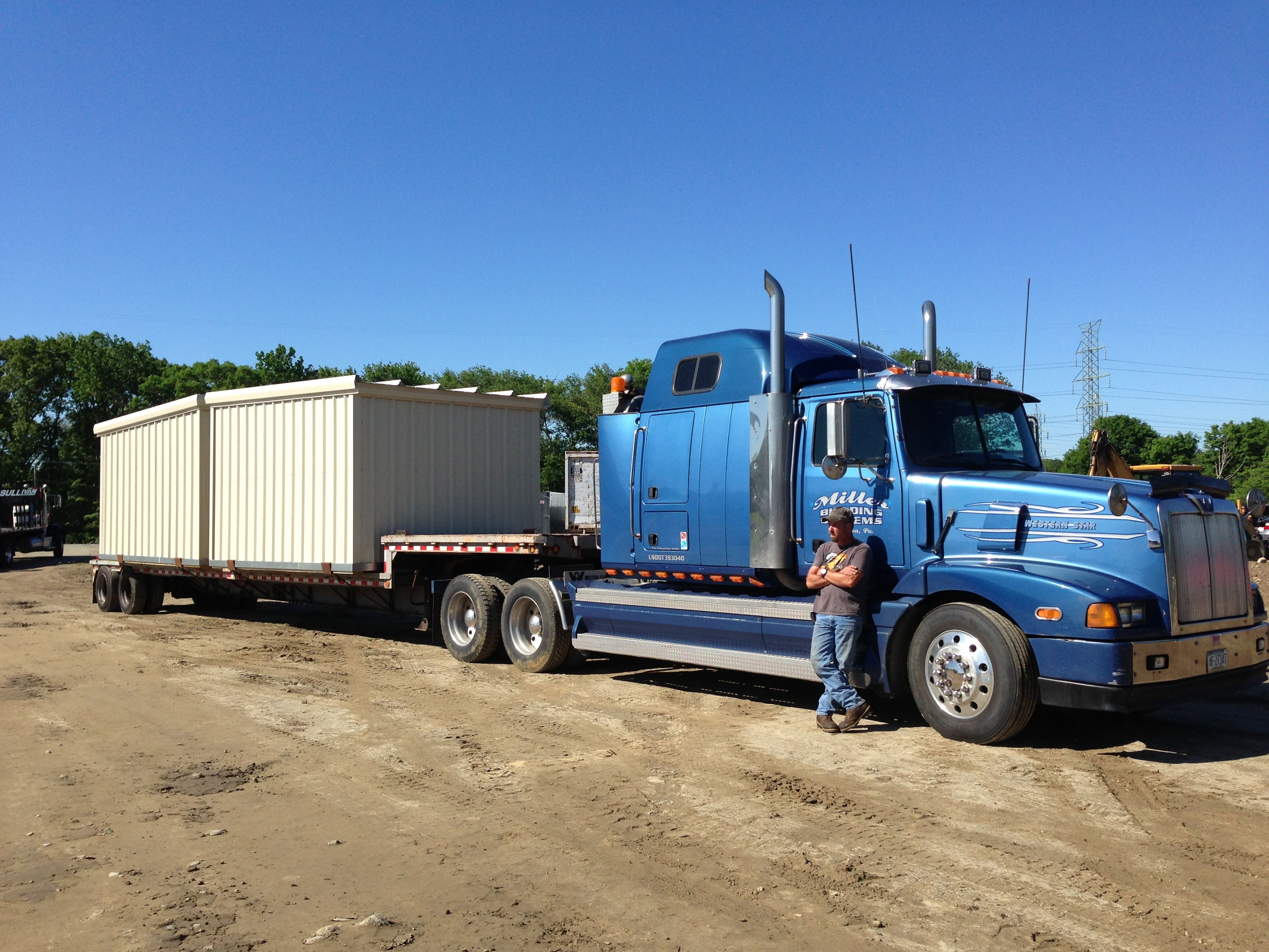 The Storage Units Are Delivered Completly Prefabricated, Ready To Use.