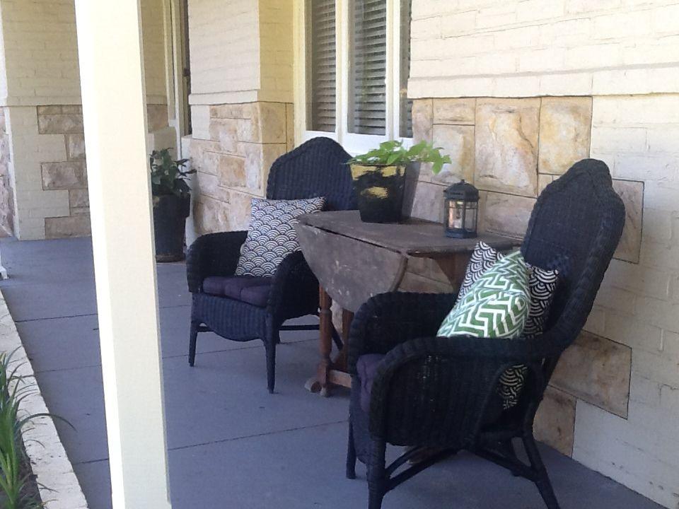 Black wicker chairs on the veranda wicker chairs chair