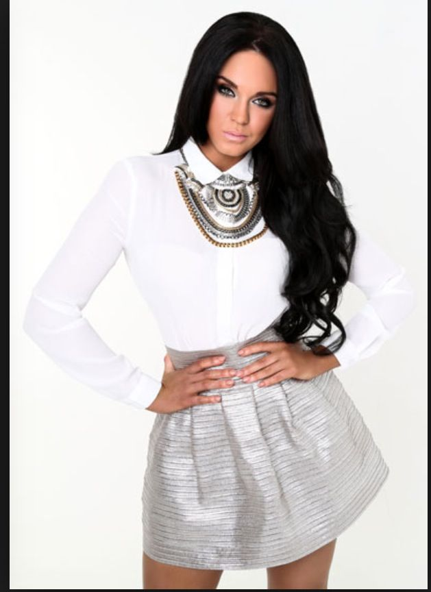 Vicky Pattison So Pretty Love The Skirt And Top Fashion
