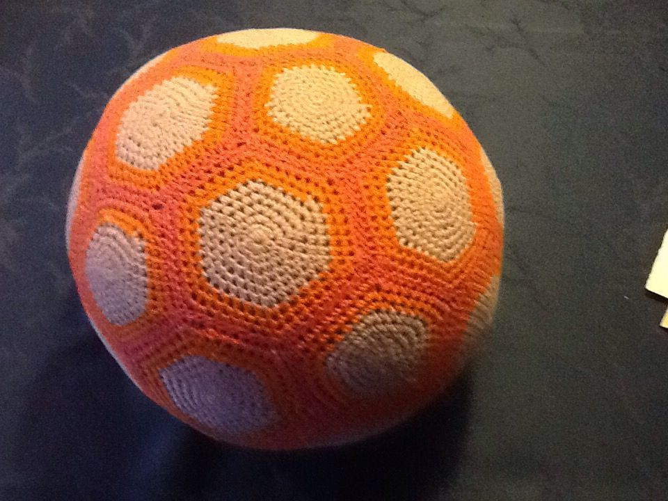 My mother's crocheted ball