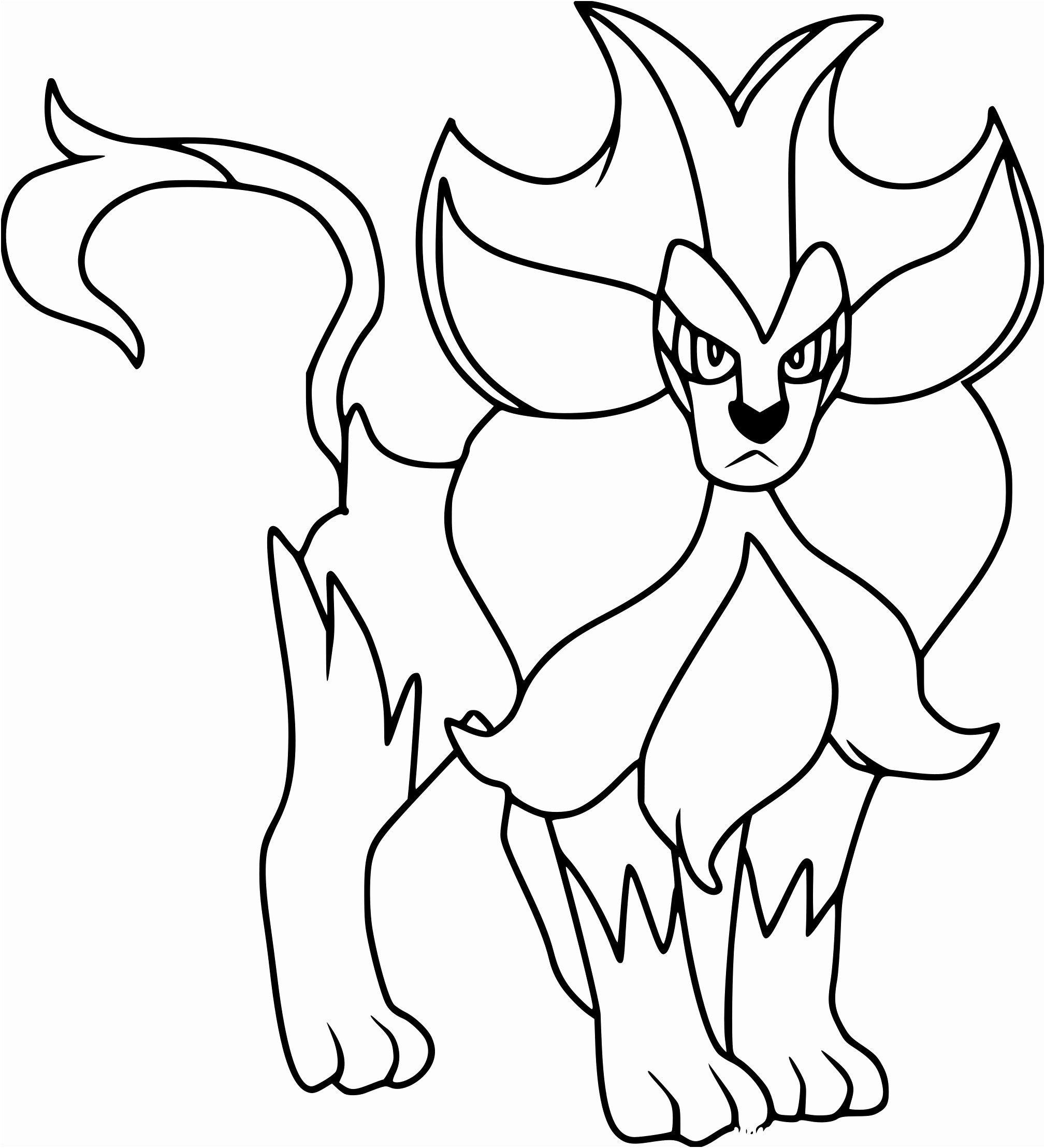 Coloriage Pokemon Salameche Dessincoloriage