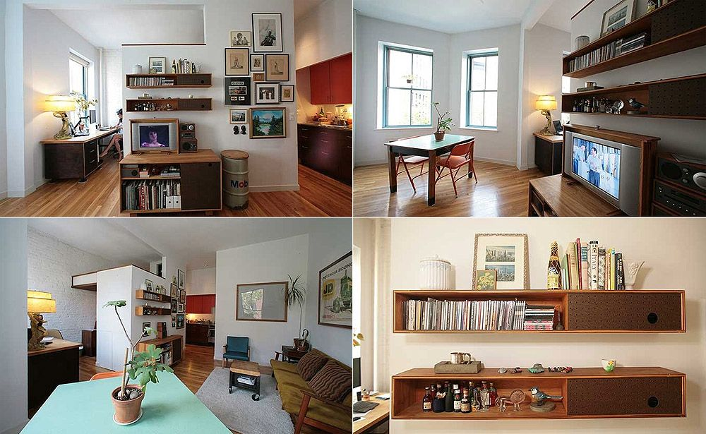 Cool Studio Apartments pint-sized southern style — small spaces roundup | studio