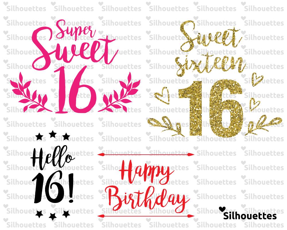 Pin By C Lo On Tatiana S Sweet 16 16th Birthday Quotes Sweet 16 Birthday Cricut Birthday