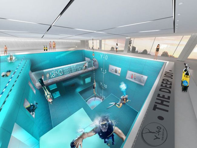 This Is The Deepest Swimming Pool In World At 131 Feet Deep